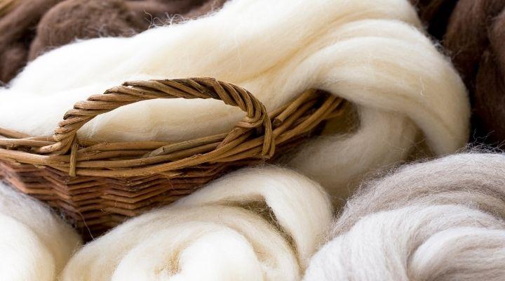 Schurwolle Schafwolle Herstellung