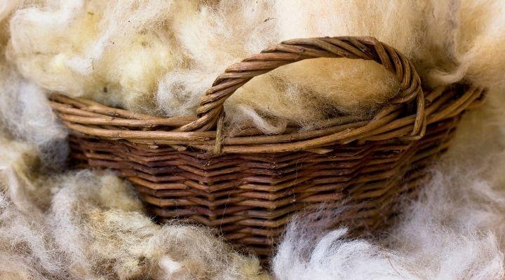 Schurwolle Herstellung